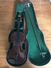 Vintage Violin Copy Antonius Stradivarius Anno 17 Czechoslovakia Parts / Repair