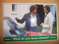 THE PROFESSIONALS MARTIN SHAW LEWIS COLLINS POSTCARD VIDEO issue 2 vol 6 CI5
