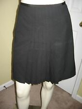 The Limited Women's Black A-line Pleated Skirt Size 8