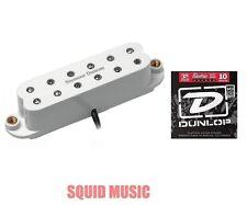Seymour Duncan JB JR. Neck Pickup For Strat White SJBJ-1N ( 1 SET OF STRINGS )