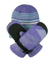 Free Country Kids' Hat and Mitten Set 3M Thinsulate Insulation Extra Warmth  A25
