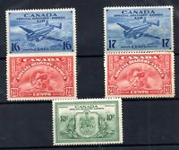 Canada Special Delivery mint collection (one poor back) WS21290