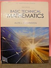 Basic Technical Mathematics by A. Washington 10th US Edition Hardcover (VK87)