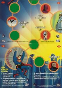 SUPERMAN ACTION PACKS  CARDS FROM SKYBOX.