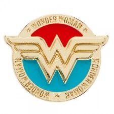 OFFICIAL DC COMICS - WONDER WOMAN SYMBOL METAL PIN BADGE (BRAND NEW)