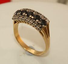 Unbranded Sapphire Yellow Gold 18k Fine Jewellery