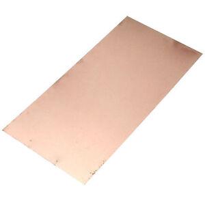 99.9% Pure Copper Cu Metal Sheet Foil 1pcs 0.5 x 200 x 100MM