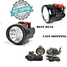 Lithium Led Cap Light Headlight Mining Lamp Miner Camping Fishing Wireless NEW