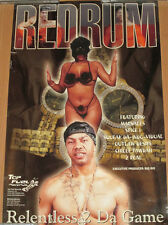 REDRUM Relentless 2 Da Game, Top Fuel promo poster, 2001, 11x17, VG+, hip-hop