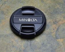 Genuine Minolta LF-1255 55mm Front Lens Cap Snap-On Auto Focus Lenses (#3283)
