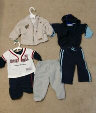 Lot Of 6 18m 18 Month Baby Boy Boys Outfit Pants Jacket baseball