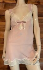NWT ADORE ME Soft Pink SIZE LARGE BABYDOLL NIGHTGOWN   #13005