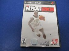 PlayStation 2, NBA 2K8, Rated E, Improved Game Play, 2K Online, 2K8 Soundtrack
