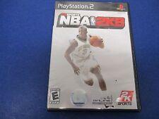PlayStation 2, NBA 2K8, Rated E, Improved Game Play, 2K Online, 2K8 Soundtrack
