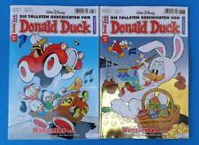 Walt Disney Donald Duck  Nr.382 + 383 UNGELESEN 1A abs. TOP