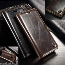 Genuine real Leather Wallet stand case cover for Huawei P10 LITE  P8 P9 Lite