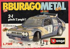 Pubblicità Advertising BBURAGO METAL 1989 Kit Lancia Delta S4