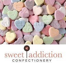 1kg Conversation Love Hearts - Bulk Wedding Lollies Candy Buffet AUSTRALIAN MADE