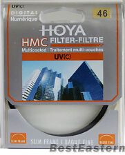 Genuine Hoya 46mm HMC UV (C) Multi-Coated Slim Filter 46 mm