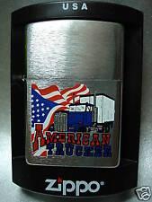 """ZIPPO """" american trucker """" - NEUF - 1027"""