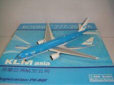 "Phoenix 400 KLM Asia B777-200ER ""2003s color - KLM Asia Title"" 1:400"