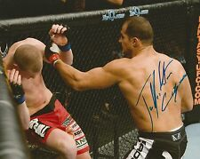 JUNIOR DOS SANTOS SIGNED MMA 8x10 UFC 95 vs STEFAN STRUVE