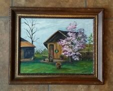 painting signed by B Kratzer
