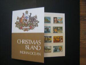 Christmas Island Definitive postage stamp folio MNH OG