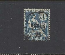"""FRENCH MOROCCO - 86 - USED - 1924 - """"TANGER"""" O/P ON MAROC STAMPS"""