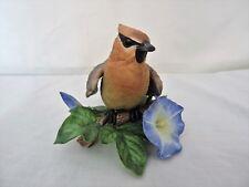 """Lenox Fine Porcelain """"Cedar Waxwing"""" From the Garden Bird Collection Euc"""