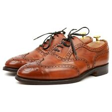 Cheaney 'Turner' Tan Brown Leather Brogues UK 9 F