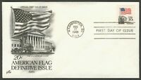 #1895 20c Flag Over Supreme Court, Art Craft FDC **ANY 4=FREE SHIPPING**