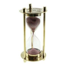 Titanic Collectors Brass Hourglass Decorative Timer (sg)