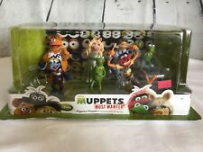 Disney Store Muppets Most Wanted Figurine Playset 7 Figures Authentic Original
