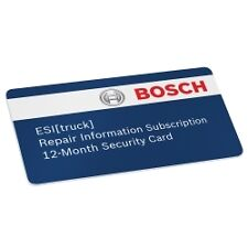 Bosch 3824-08R Troubleshooting and Repair Subscription For ESI Truck Scan Tool