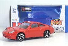 """Bburago 30000 Street Fire PORSCHE 911 Carrera 4 """"Rossa"""" - METAL Scala 1:43"""