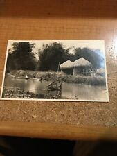 A Country Waterway Squires Bingham Co. Philippines 🇵🇭 RPPC  Photo Postcard