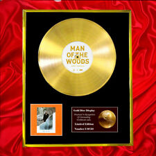 More details for justin timberlake man of the woods cd  gold disc vinyl record award display lp
