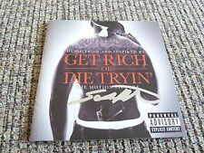 50 Cent Curtis Jackson Get Rich or Die Tryin Signed CD Book PSA Guarantee