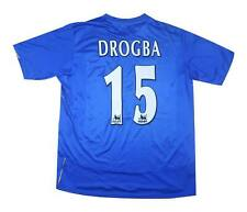 Chelsea 2004-05 Authentic Home Shirt Drogba #15 (Excellent) L Soccer Jersey