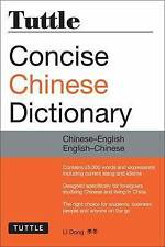 Tuttle Concise Chinese Dictionary: Chinese-English English-Chinese, Li Dong, Ver