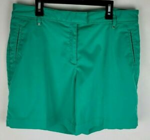 Lady Hagen Womens Size 10 Green Stretchy Causual Golf Shorts