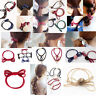 New Women Lady Hair Band Tie Bowknot Ponytail Holder Elastic Rope Ring Hairband