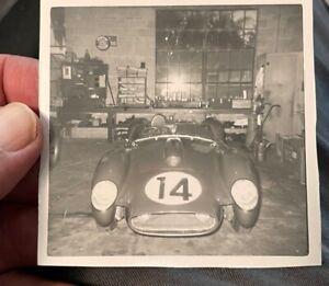 1958 Photo Snapshot Phil Hill Ferrari 250TR Sebring 12-Hour Winner