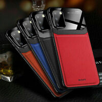 For Samsung Galaxy S20 FE Note 20 Ultra S20 Plus Leather Rubber Slim Case Cover