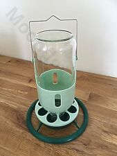 1kg & 1L Hanging Feeder & Drinker For Cage Aviary Finches/ Canary / Budgies