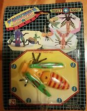 Vintage transformable insect robot toy sealed rare