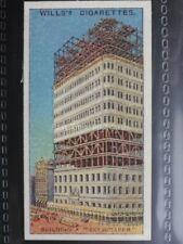 No.22 BUILDING A SKYSCRAPPER, USA Engineering Wonders W.D.& H.O. Wills 1927