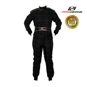 Go Kart - ProDezine Race Suit - Black 2XL -  NEW