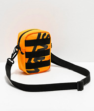 Vans Webbed Checkerboard Black & Yellow Crossbody Messenger Sling Shoulder Bag